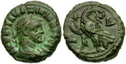 Ancient Coins - Diocletian (AD 284-305). Egypt. Alexandria Æ Tetradrachm / Eagle