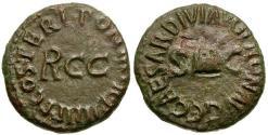 Ancient Coins - Caligula Æ Quadrans / Pileus