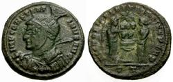 Ancient Coins - aVF/aVF Constantine I The Great Æ3 / Victories at Altar