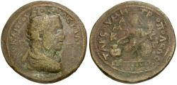 Ancient Coins - Valerian I. Cilicia. Tarsos Æ32 / Athena Voting