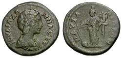 Ancient Coins - Julia Domna. Thrace. Pautalia Æ24 / Tyche