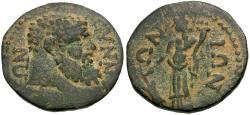 Ancient Coins - Phrygia. Synnada. Pseudo-autonomous Æ23 / Tyche
