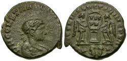 Ancient Coins - Constantine II (AD 316-337) Æ Nummus / Captives