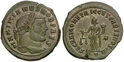 Ancient Coins - Galerius, as Caesar (AD 293-305) Æ Follis / Sacra Moneta