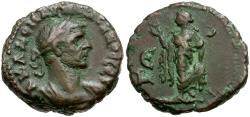 Ancient Coins - Aurelian. Egypt. Alexandria Billon Tetradrachm / Elpis