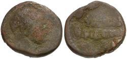 Ancient Coins - Trajan. Coele-Syria. Chalkis Æ23 / Wreath