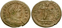 Ancient Coins - Constantine I the Great Æ Follis / Mars