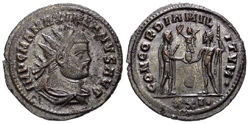 Ancient Coins - VF/EF Maximianus Antoninianus / RIC Variant