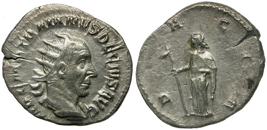 Ancient Coins - Trajan Decius (AD 249-251) AR Antoninianus / Dacia
