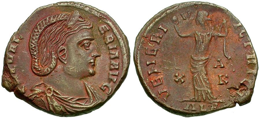 Ancient Coins - Galeria Valeria (AD 293-311) Æ Follis