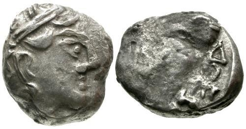 Ancient Coins - VF/VG Attica Athens style Tetradrachm / Babylonian Issue