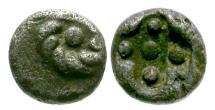 Ancient Coins - Ionia. Uncertain Mint AR Hemitetartemorion / Rosette