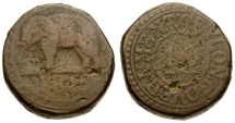 World Coins - Ceylon. British Colonial. George III 1/12 Rixdollar / Elephant