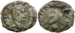 Ancient Coins - Divus Septimius Severus AR Denarius / Eagle on Globe