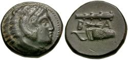 Ancient Coins - Kings of Macedon. Alexander III the Great (336-323 BC) Æ17