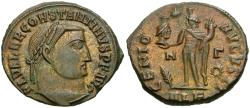 Ancient Coins - Constantine I the Great (AD 306-337) Æ Follis / Genius with head of Serapis