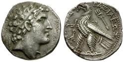 Ancient Coins - Seleukid Kings. Alexander I Balas AR Tetradrachm / Eagle