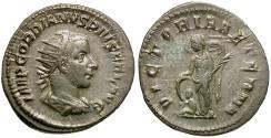 Ancient Coins - Gordian III (AD 238-244) AR Antoninianus / Victory