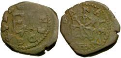 Ancient Coins - Spain. Philip III Æ Cornados / Shield