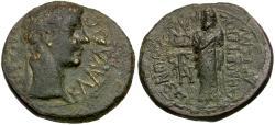 Ancient Coins - Claudius (AD 41-54). Phrygia. Cadi Æ20 / Jupiter