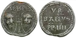 World Coins - Italy. Papal. Urban IV (1261-1264) PB Seal or Bulla