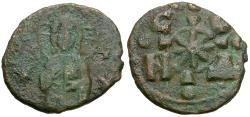 Ancient Coins - *Sear 1888* Byzantine Empire. Nicephorus III (AD 1078-1081) Æ Follis