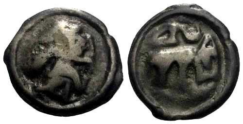 Ancient Coins - aVF/aVF Rare Variant Remi Potin