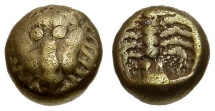Ancient Coins - Caria. Mylasa EL 1/48 Stater / Scorpion