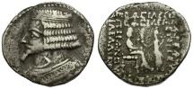 Kings of Parthia. Phraates IV AR Tetradrachm / Phraates and Tyche