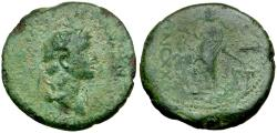 Ancient Coins - Domitian as Caesar. Paphlagonia. Sinope Æ21