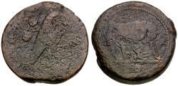 Ancient Coins - 217-215 BC - Roman Republic. Anonymous Æ Sextans / She-wolf