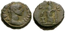 Ancient Coins - Diocletian.  Egypt.  Alexandria Æ Tetradrachm / Eusebia