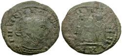 Ancient Coins - Constantine I the Great (AD 306-337). Imitative Æ3 / VLLP
