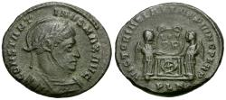 Ancient Coins - Constantine I the Great (AD 310-337) Æ Follis / Victories
