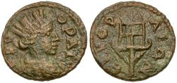 Ancient Coins - Ionia. Erythrae. Pseudo-autonomous Æ18 / Fire Beacon