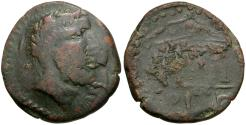 Ancient Coins - North Africa. Syrtica. Sabrata Æ33 / Temple