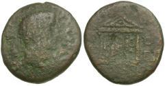 Ancient Coins - Herod Philip II (4 BC-AD 34) Caesarea. Panias Æ18