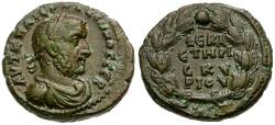 Ancient Coins - Gallienus. Egypt. Alexandria BI Tetradrachm / Wreath