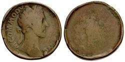 Ancient Coins - Commodus. Proto-Contorniate Æ Sestertius