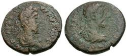 Ancient Coins - Marcus Aurelius and Lucius Verus. Phoenicia. Berytus Æ25