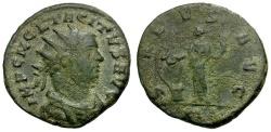 Ancient Coins - Tacitus Æ Antoninianus / Salus