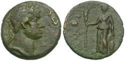 Ancient Coins - Hadrian (AD 117-138). Macedon. Amphipolis Æ16 / Artemis