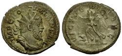 Ancient Coins - EF/aVF Postumus AR Antoninianus / Victory