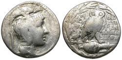 Ancient Coins - Attica. Athens. New Style. Epigene-, Sosandros and Eyme-, magistrates AR Tetradrachm