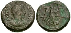 Ancient Coins - Gordian III (AD 238-244). Egypt. Alexandria Billon Tetradrachm / Nike