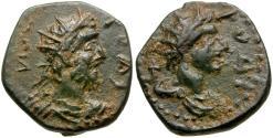 Ancient Coins - Commodus (AD 177-192). Caria. Rhodes Æ15 / Helios
