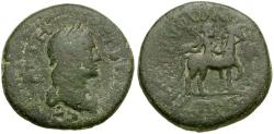 Ancient Coins - Sabina. Lydia. Came Æ20 / Lindgren Plate Coin