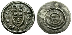 World Coins - Hungary. Bela II The Blind AR Denar