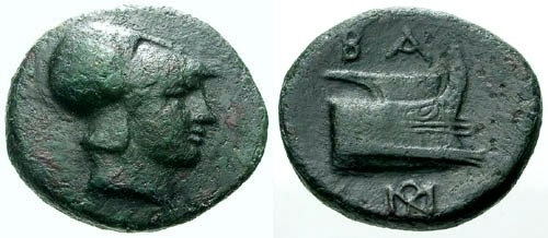 Ancient Coins - F/VF Kings of Macedon Demetrios Poliorcetes AE16