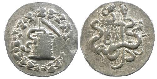 Ancient Coins - VF/VF Phrygia Apameia Cistophoric AR Tetradrachm